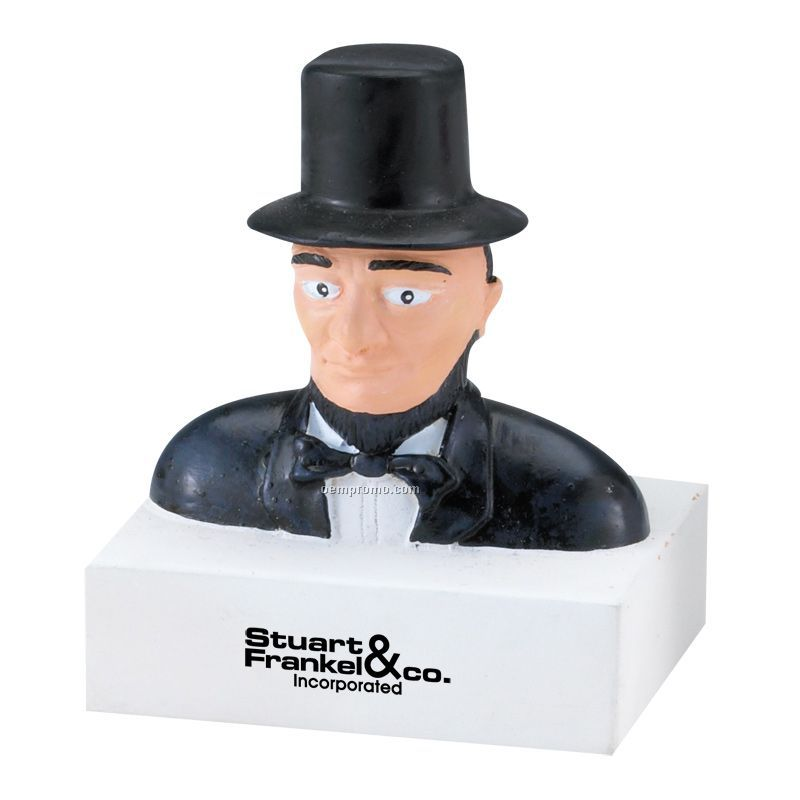 Abraham Lincoln Squeeze Toy