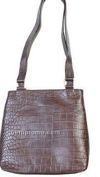 Croco Calf Hand Bag