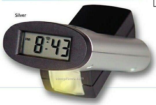 Alarm Clock W/ Rotating Flash Light