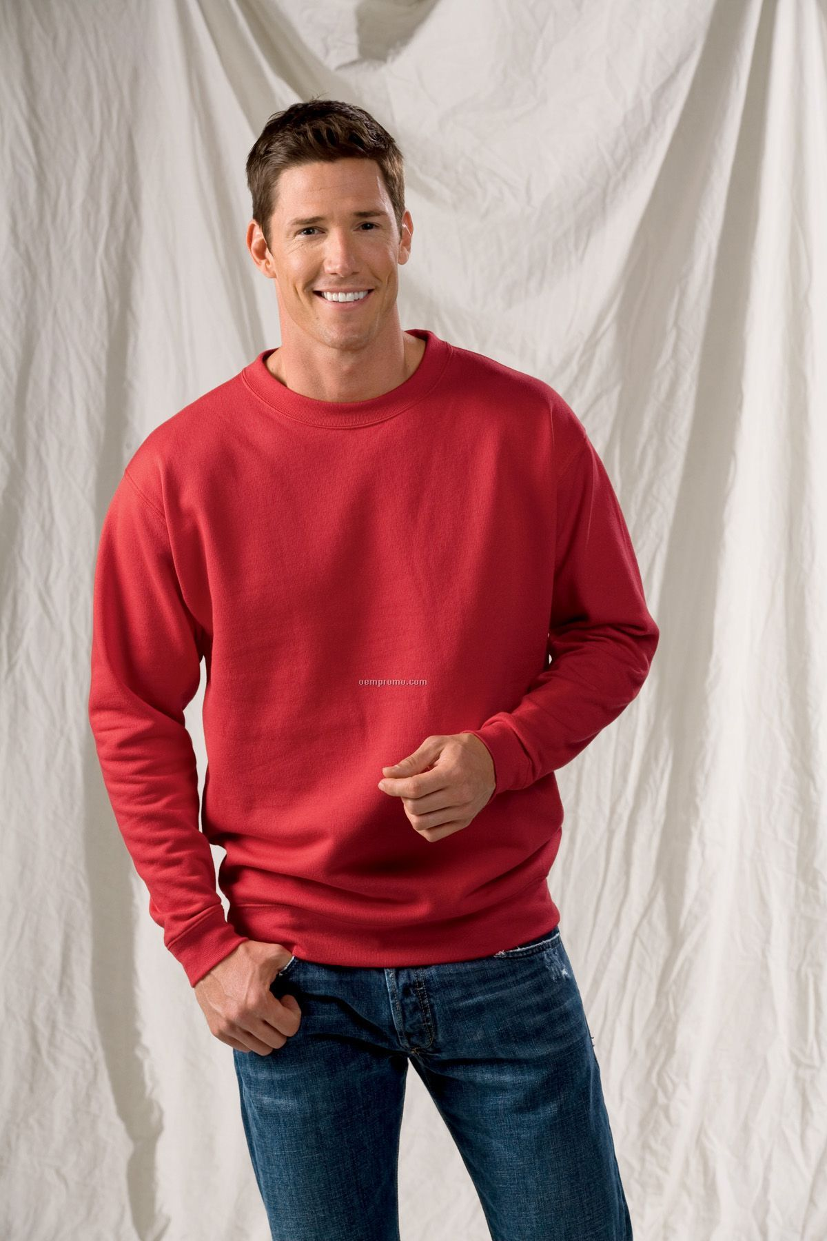 Anvil Sustainable Blended Crewneck Sweatshirt - Colors (2xl-3xl)