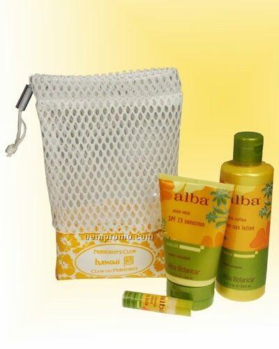 Mesh And Nylon Drawstring Bag (Usa)