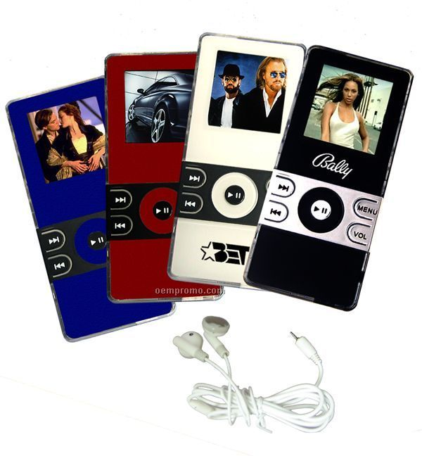 Mp4 Digital Media Player With 4 Side Button - 2 Gb