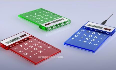 Solar Calculator W/Hub