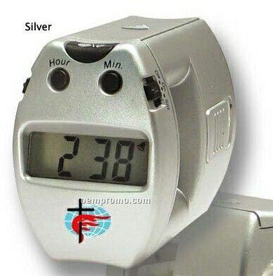 Alarm Clock W/ Flash Light
