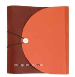 Elastic Button Closure 3-ring Binder - Premium Or Recycled Leather