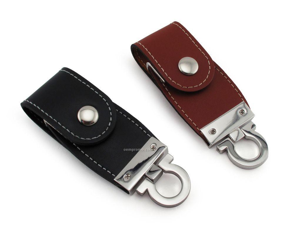 4 Gb USB Leather 100 Series