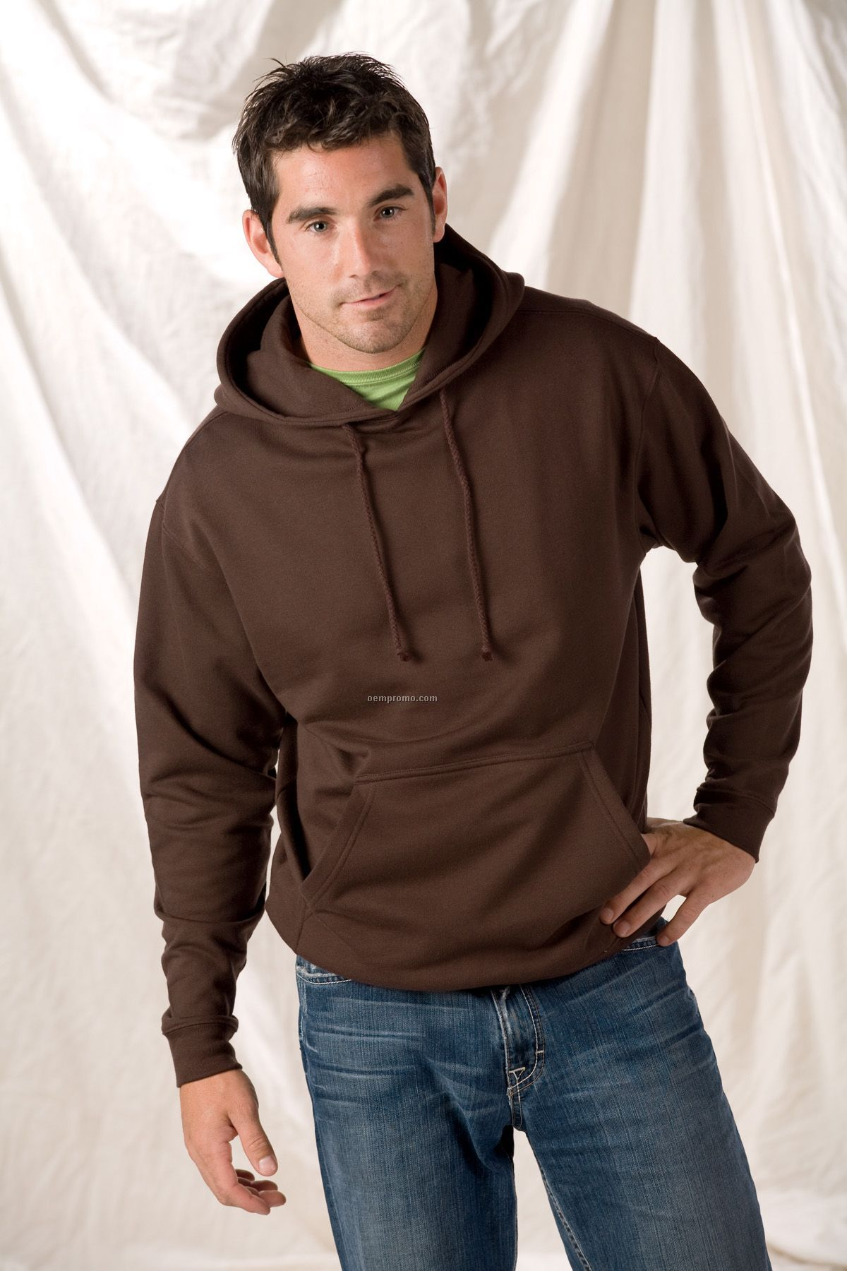 Anvil Sustainable Blended Pullover Hooded Sweatshirt - Neutral