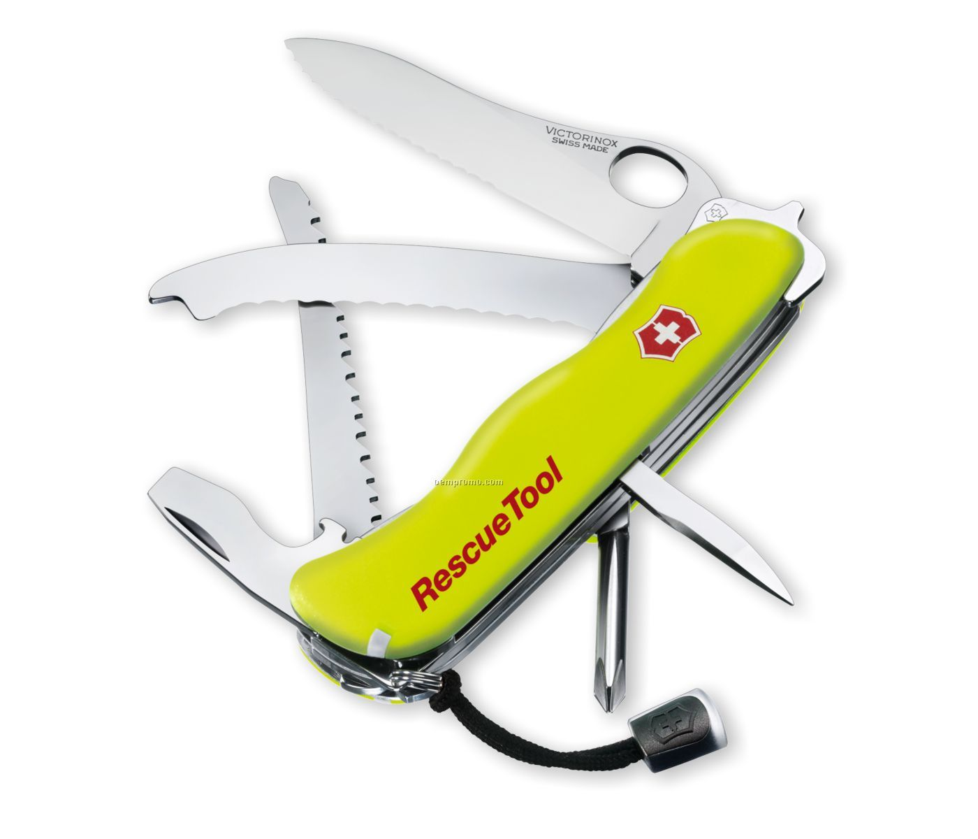 Rescue Tool Swiss Army Knife Yellow China Wholesale
