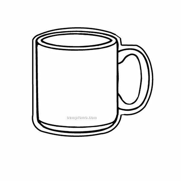 Stock Shape Coffee Mug Recycled Magnet