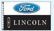 Individual Flag On Replacement Staff - For Cluster Set (Ford/Lincoln)