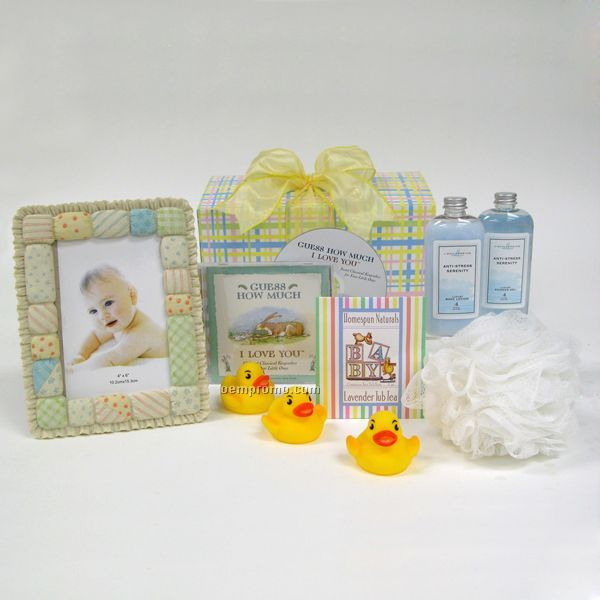 Baby Gift Baskets China : Mom and baby spa congratulations china wholesale