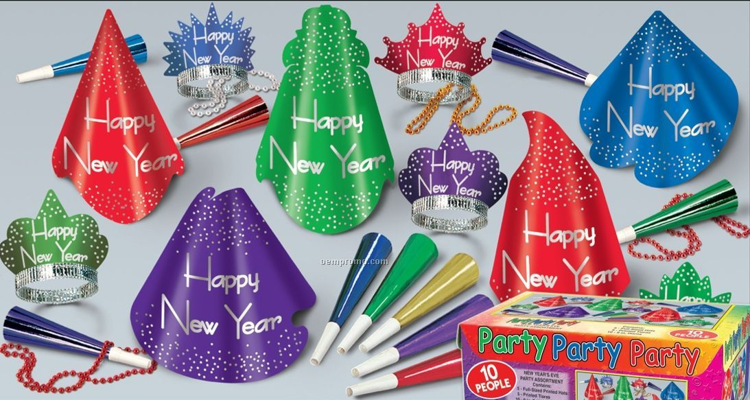 Party Party Party New Year's Assortment For 10