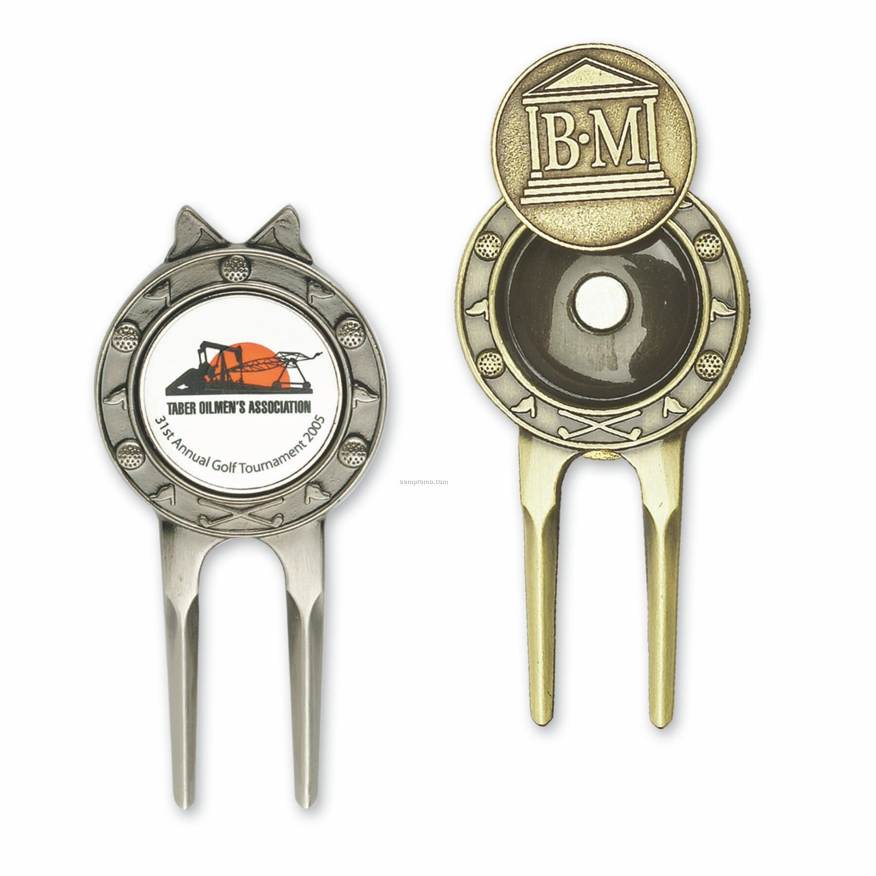 Deluxe Golf Divot Tool W/ 2 Markers
