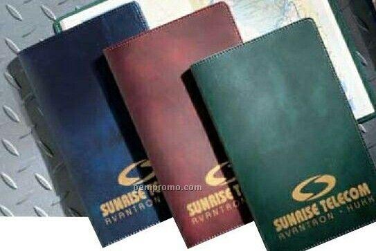 Deluxe Leatherette Pocket Road Atlas