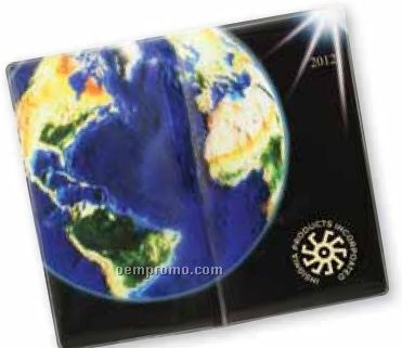 Global Weekly Planner W/ Road Map & Gold Gilded Edges