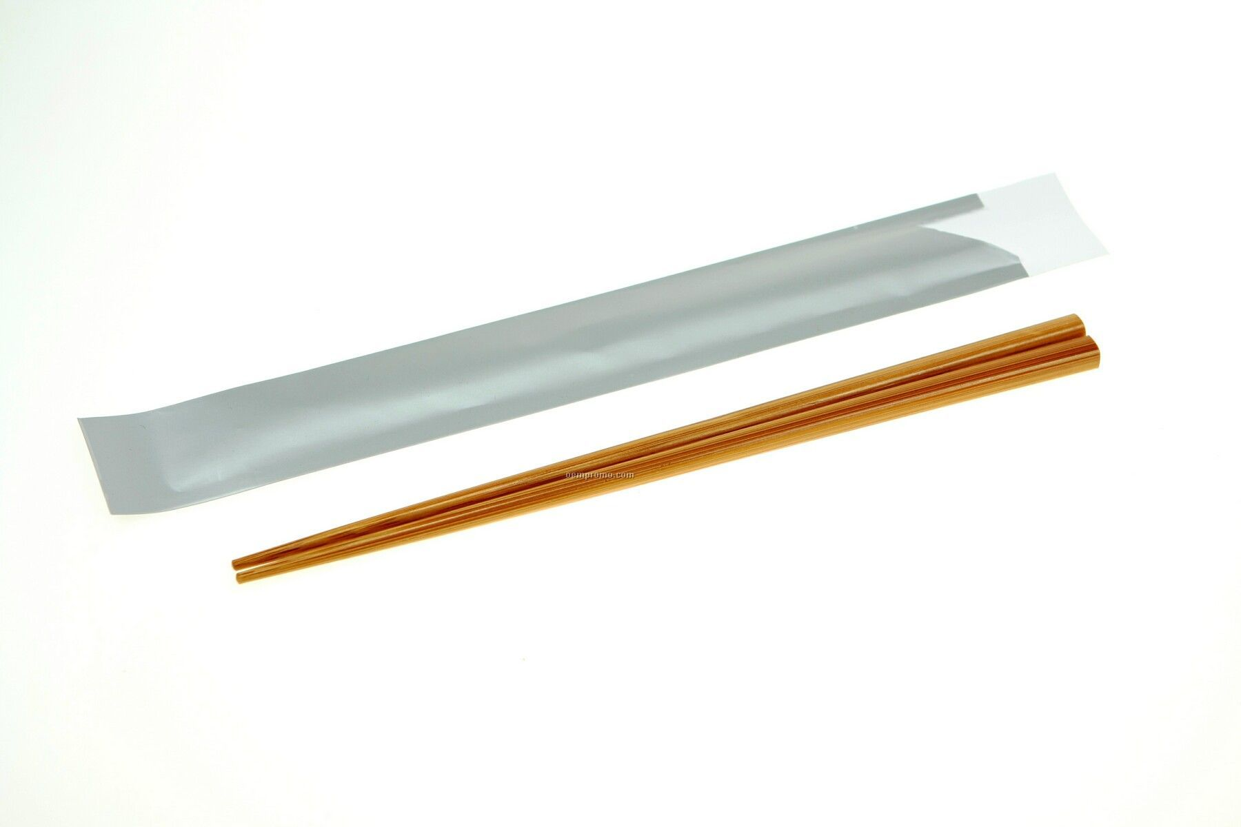 Lowest Price On The Market- Bamboo Chopsticks In Silver Paper Pouch