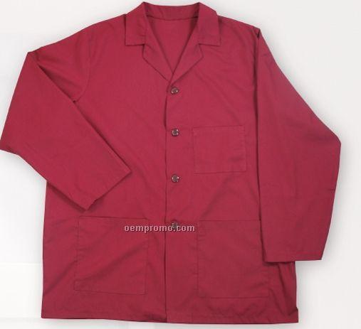 Male Poplin Counter Coat - Signature Colors