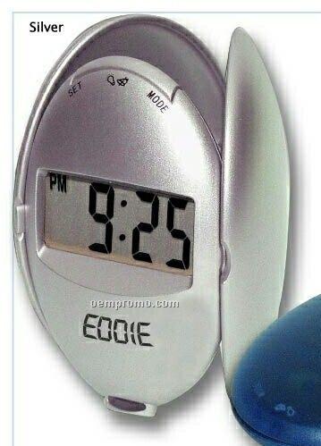 Shell Press Up Alarm Clock W/ Back Light