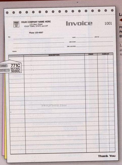 Large Job Invoice (3 Part)