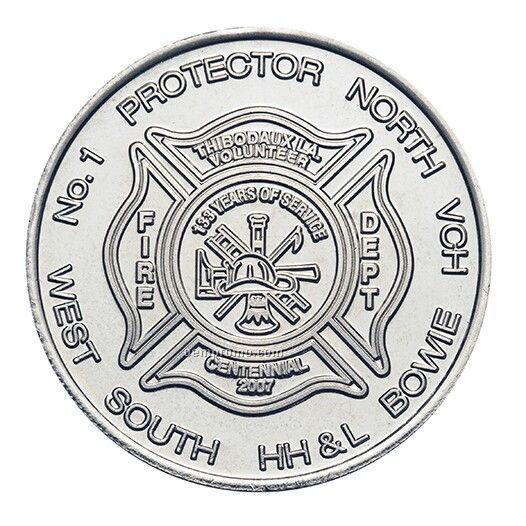 "Nickel Silver Coin - Medallion (1-1/2"")"