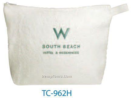 Terry Cloth Spa Bag (China)