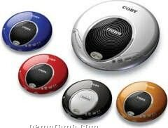Coby Slim Personal CD Player