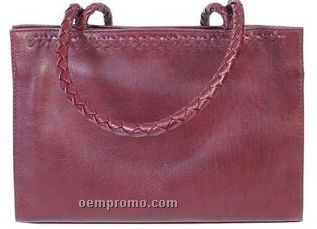 Hand Stained Hand Bag