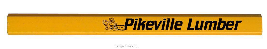 International Carpenter Yellow Pencil