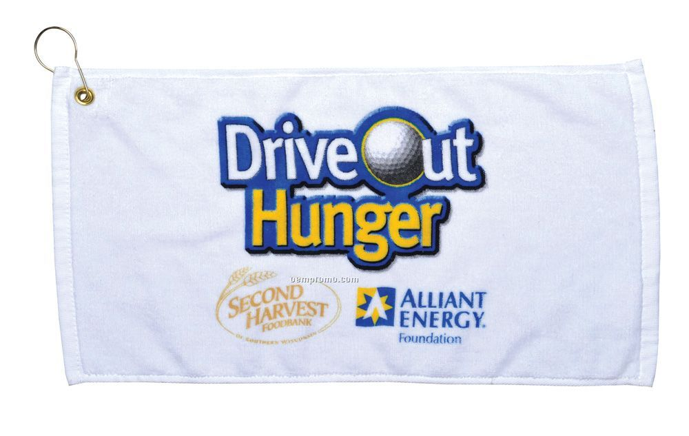 Velour Golf Towel - Embroidered 3 Day Proship