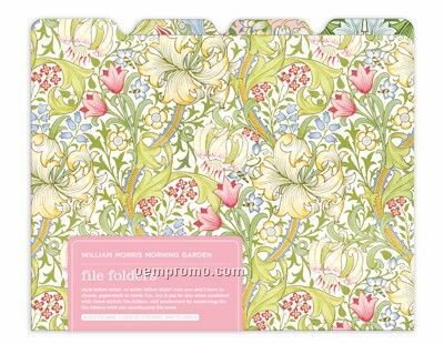 William Morris Morning Garden File Folders