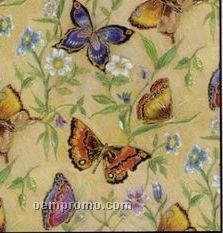 "833' Full Ream 36"" Butterflies Gift Wrap"