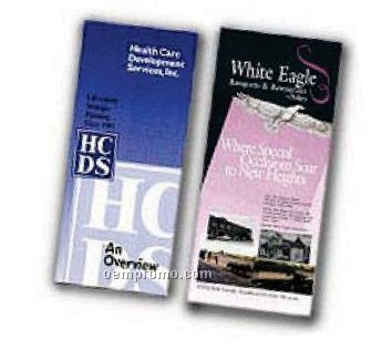 Standard 4 Page Brochure W/ 80# Gloss Text (5 1/2