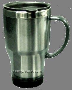18 Oz. Acrylic Travel Mug W/ Stainless Liner