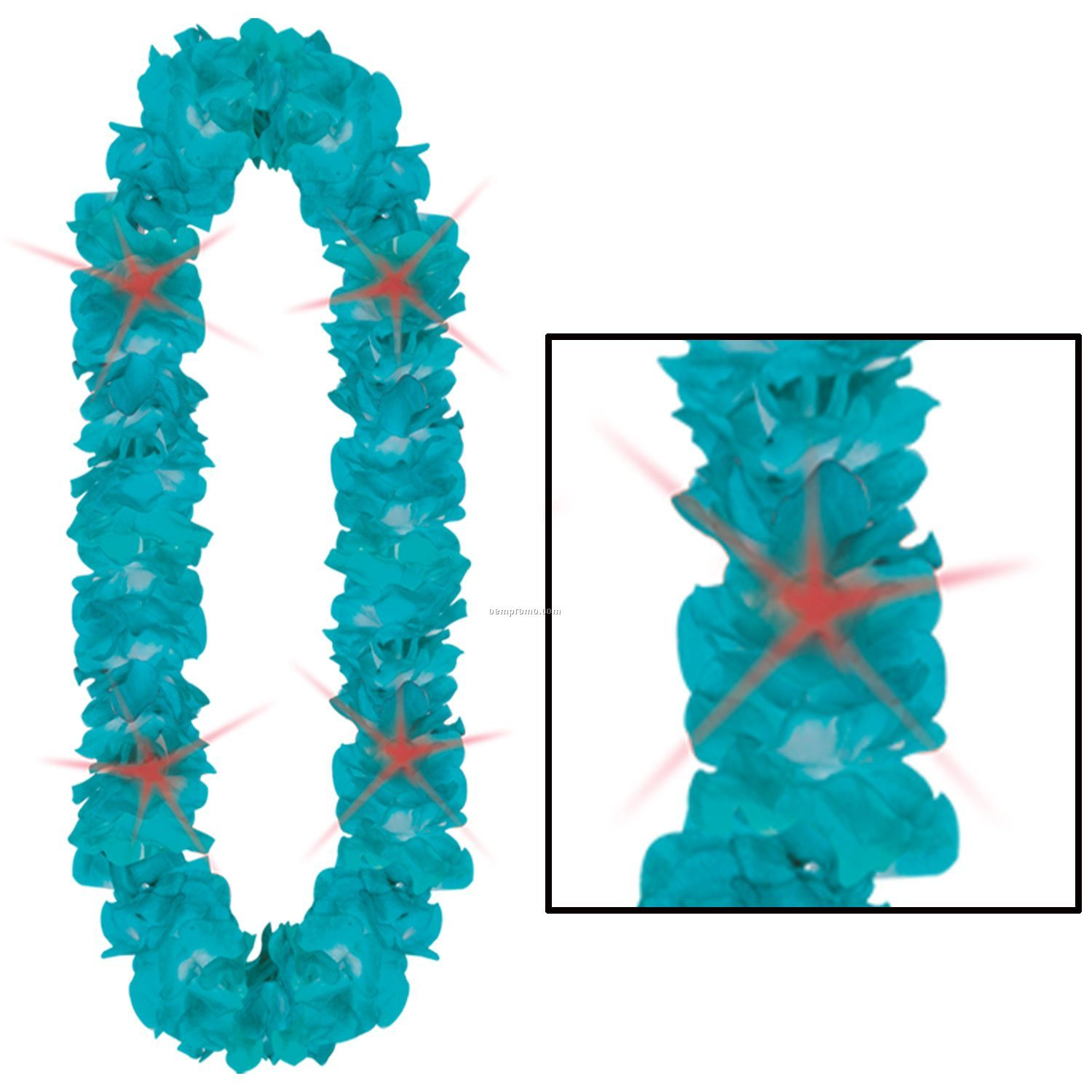 Floral Light Up Lei