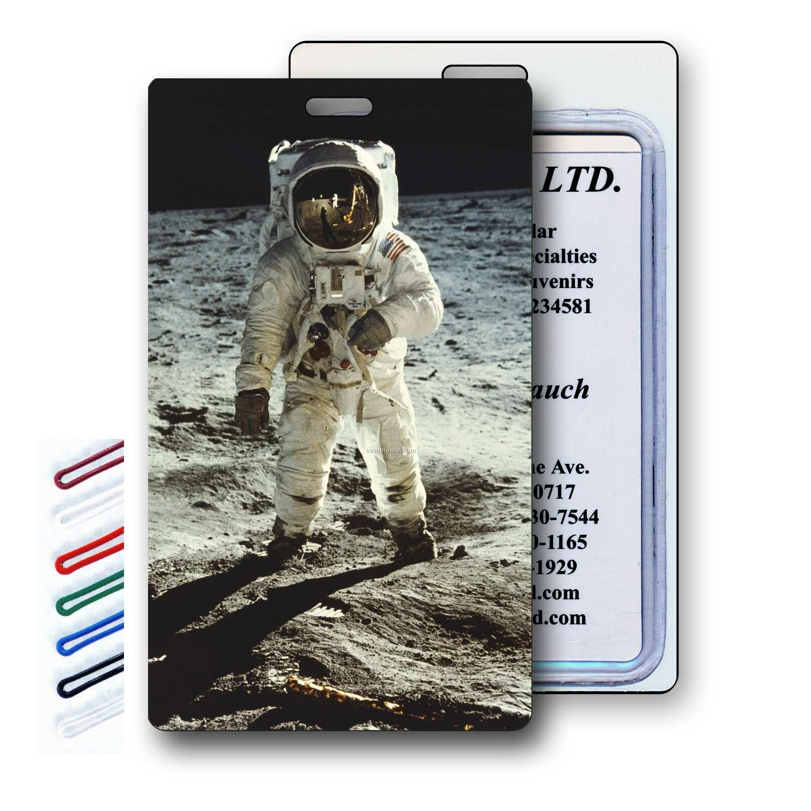 Official Astronaut ID Card (page 2) - Pics about space