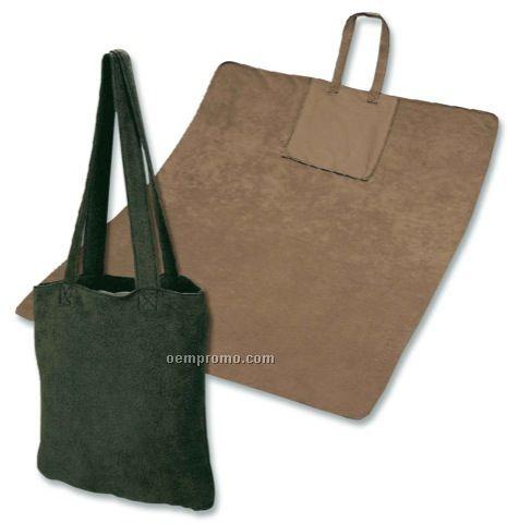 Traveler Fleece Blanket N' Tote Bag