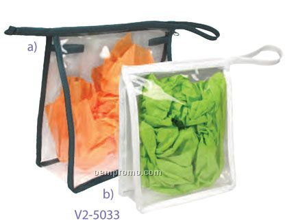 Clear Cut Cosmetic Case - Large (China)