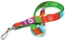 Digitally Sublimated Lanyard W/Next Day Service