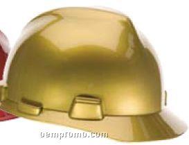 Metallic Gold Specialty V-gard Helmet