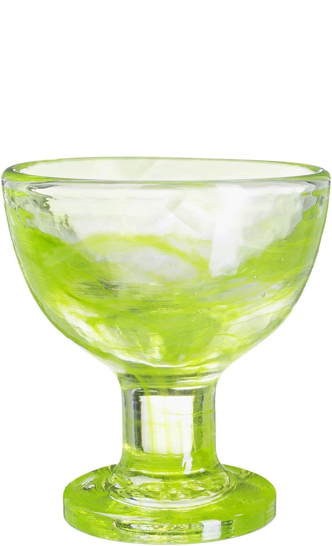 Mine Glass Ice Cream Dish By Ulrica Hydman-vallien