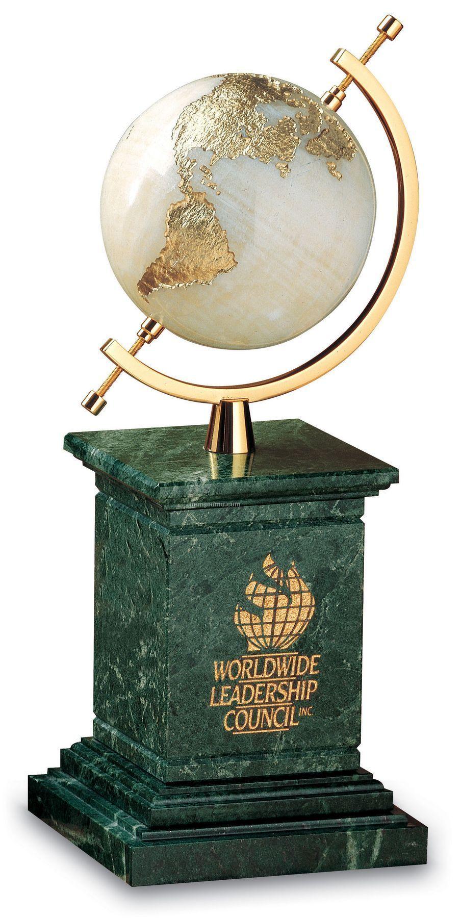 Mount Olympus Globe Award (Green Marble)