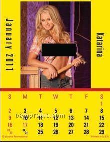Super Size Built In The Usa Press-n-stick Calendar (After 8/1/11)