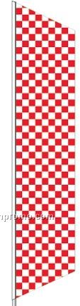 2 1/2'x12' Complete Zephyr Kit - White/Red Checker