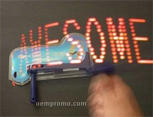 Light Up Message Spinning Toy W Red Led China Wholesale
