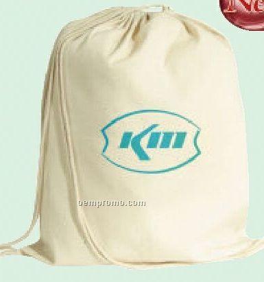 Vanilla Drawstring Backpack