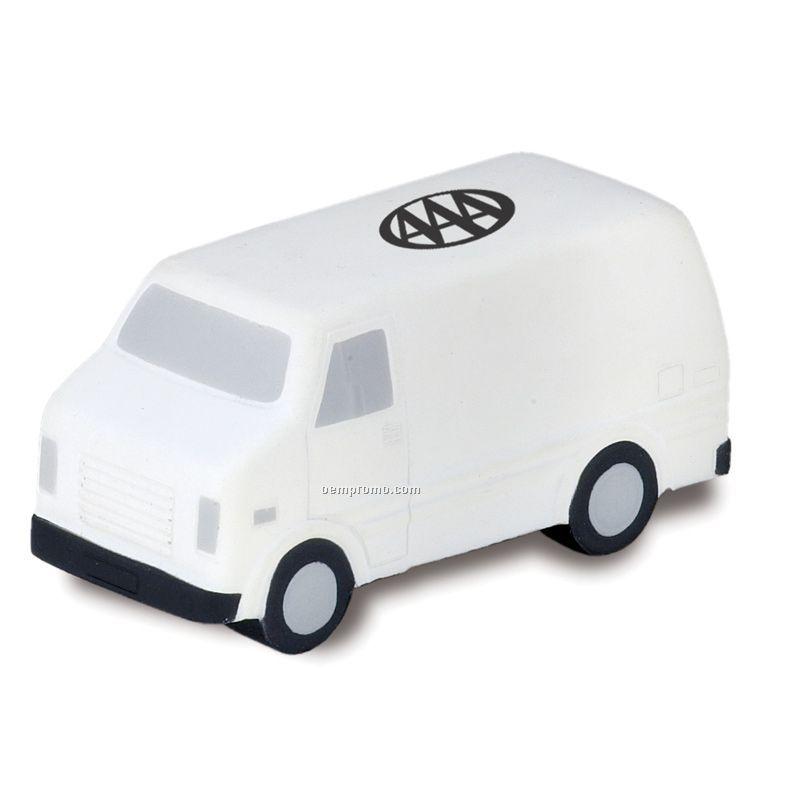 Delivery Van Squeeze Toy
