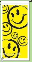 "Stock Ground Banner & Frame (Smiley Faces) (14""X30"")"