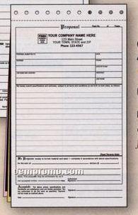 Compact Proposal/ Acceptance Form (3 Part)