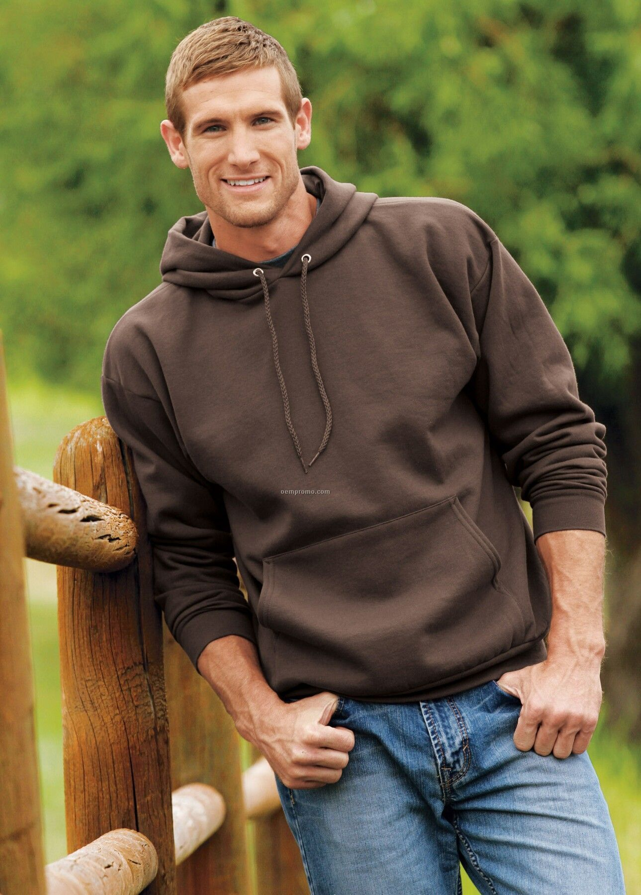 Hanes Ultimate Cotton Pullover Hooded Sweatshirt - Colors