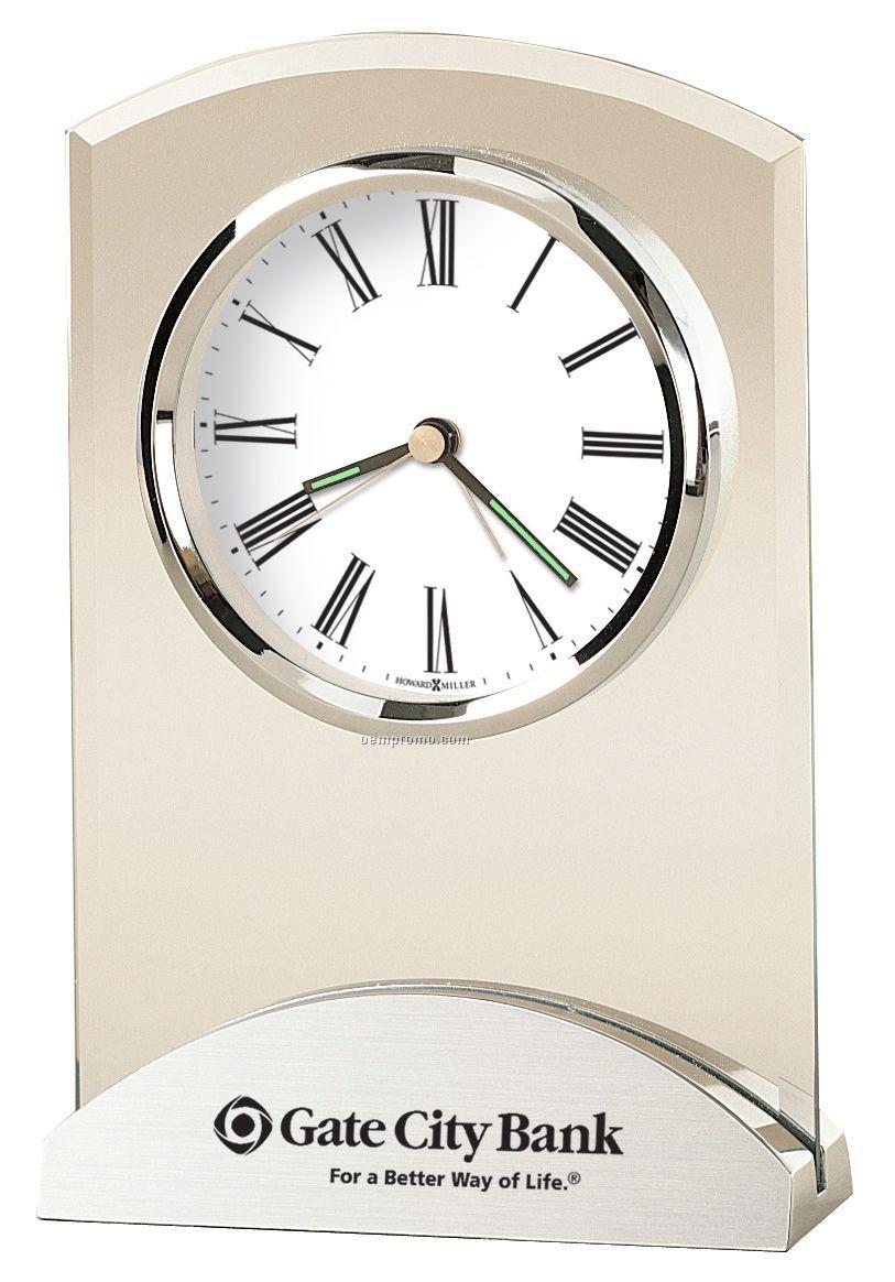 Howard Miller Tribeca Desk Clock (Blank)